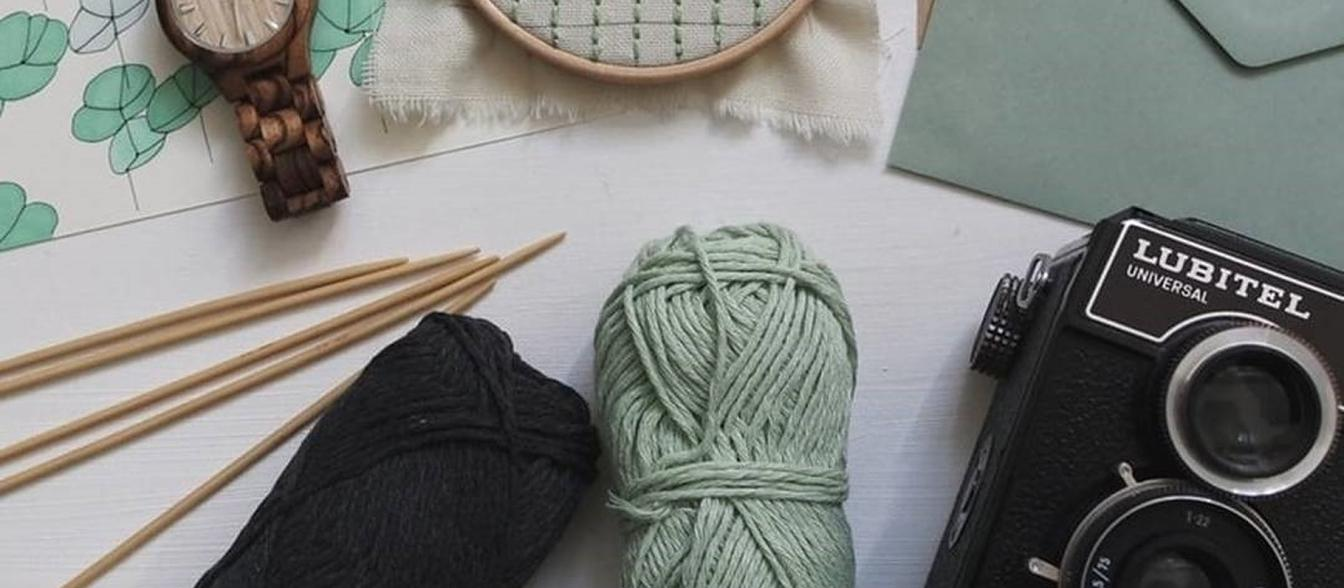 knitting, photography, hobbies